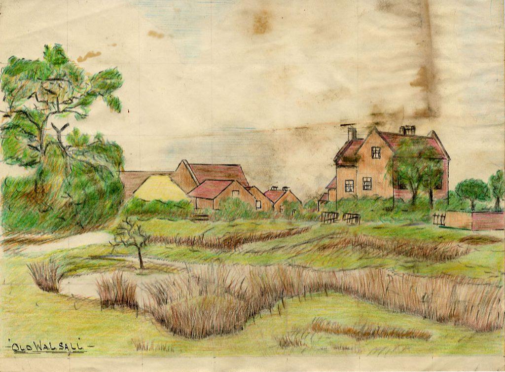 Bird, Richard Old Farm House, Walsall