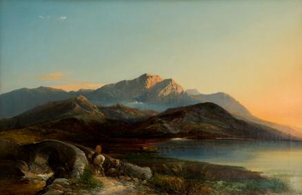 Unknown Mountain Scene