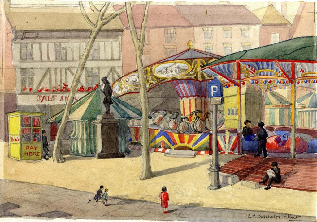 Flint, E. M. Untitled (Fairground)