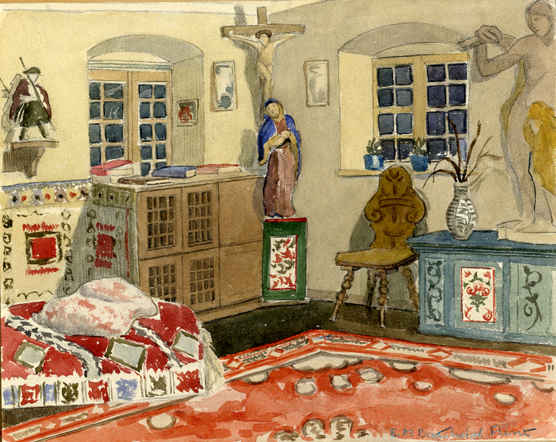 Flint, E. M. Untitled (Interior)