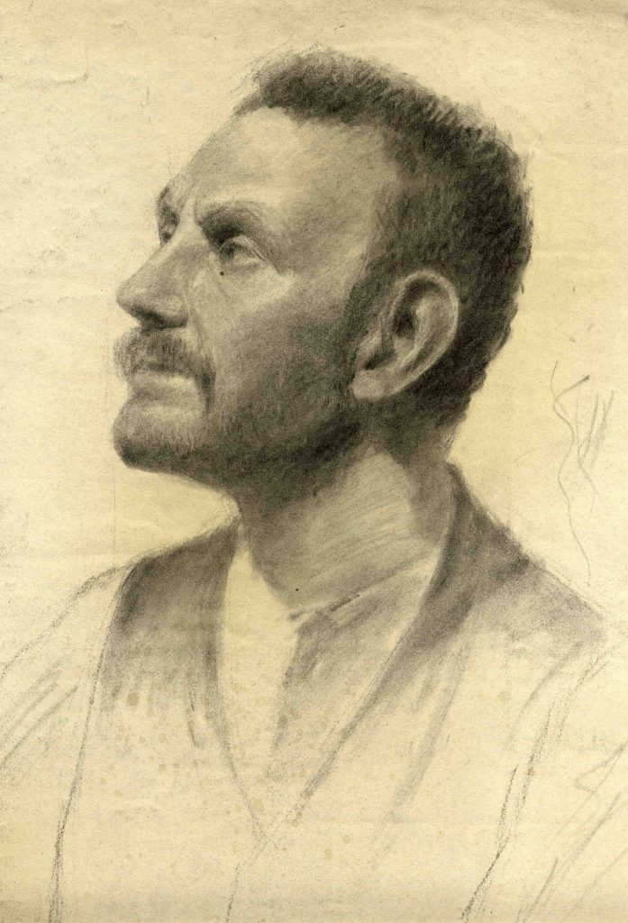 Stanley, Gilbert Harold Untitled (Study of a Man)