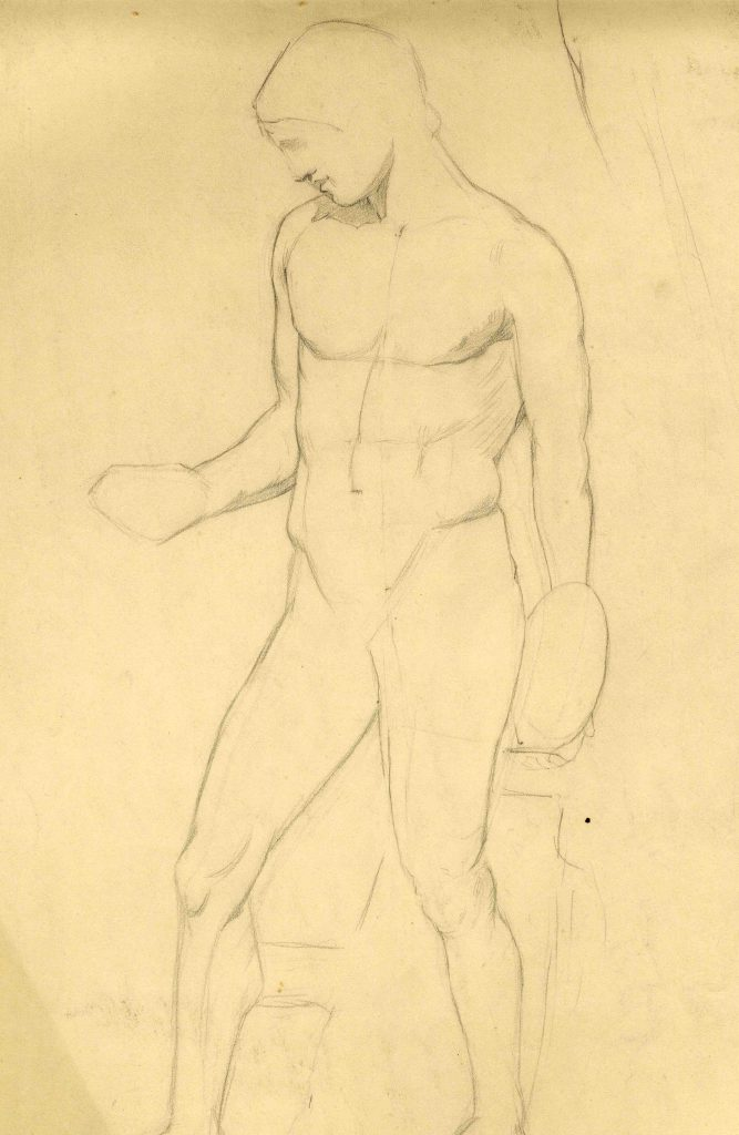 Stanley, Gilbert Harold Untitled (Study of a Nude)