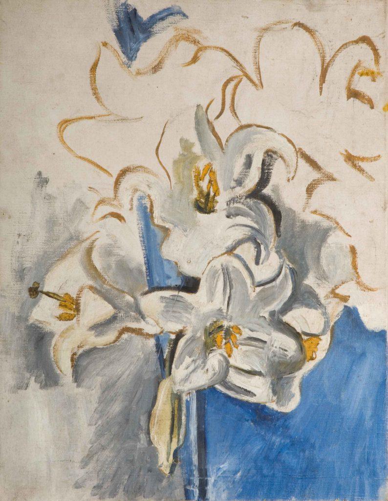 Garman, Theodore Arum Lilies (unfinished)