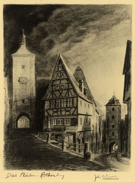 Crabtree, John Das Plonlein, Rothenburg