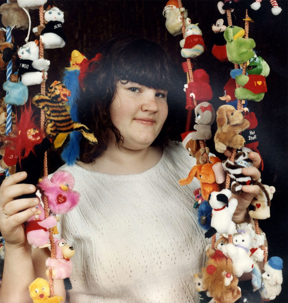 De Nasty, Ming The People's Show  Joanne Green Clip on Furry Toys