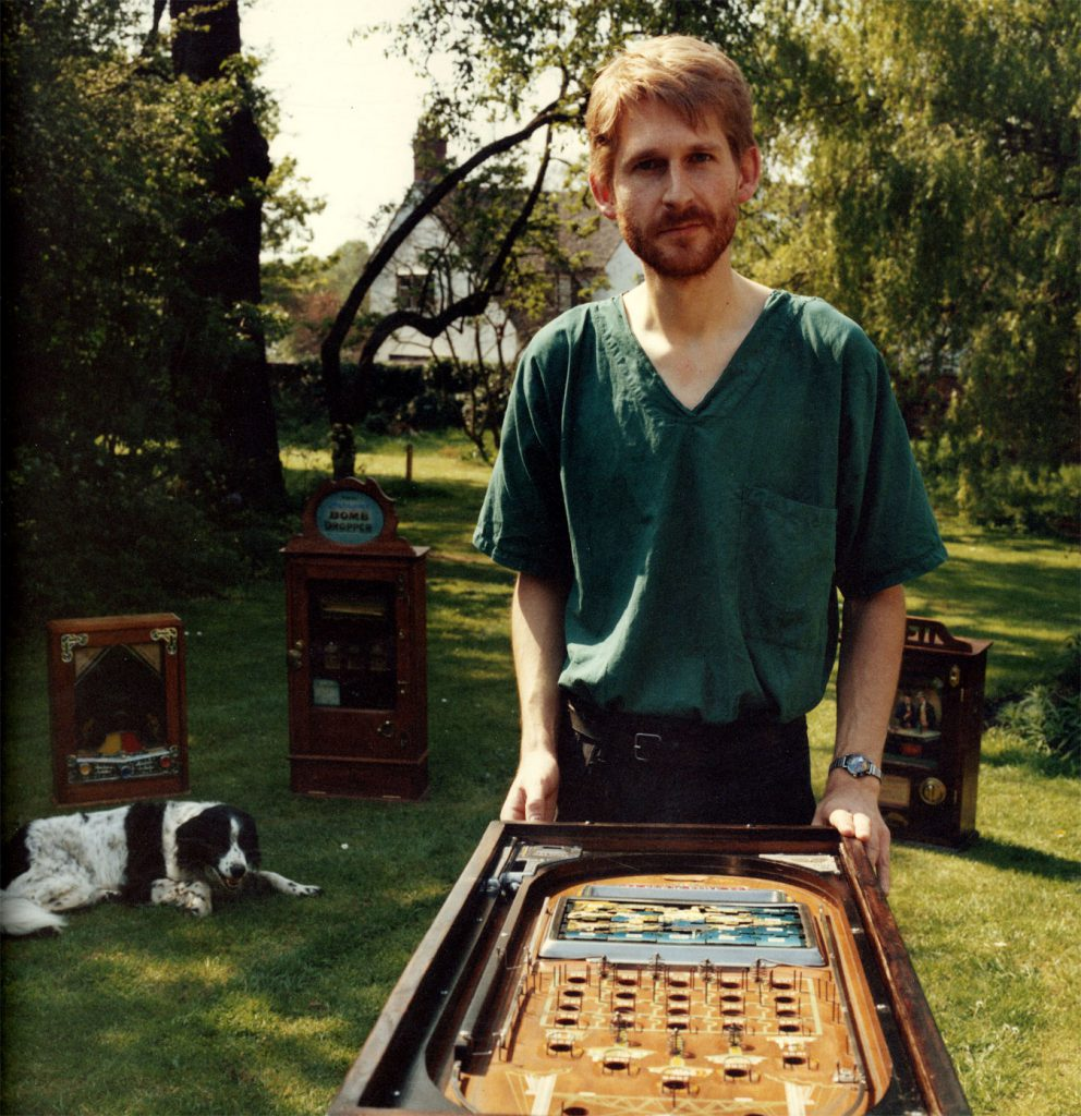De Nasty, Ming The People's Show  David LKavender  Collection of Mechanical Game Machines