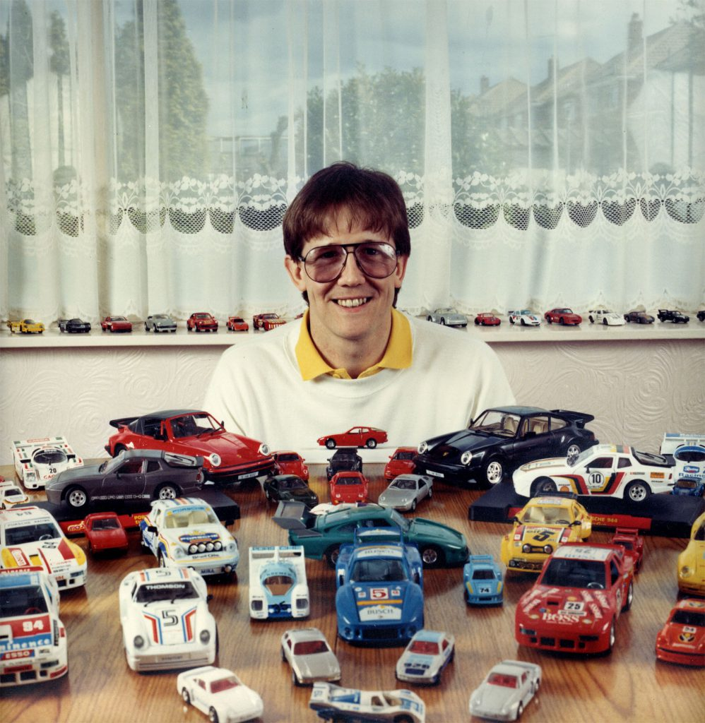 De Nasty, Ming The People's Show  Mark Fox  Die-Cast Midel Porsche cars