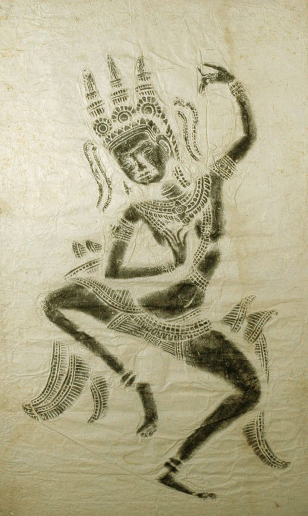 Unknown Rubbing from Angkor Wat, Cambodia