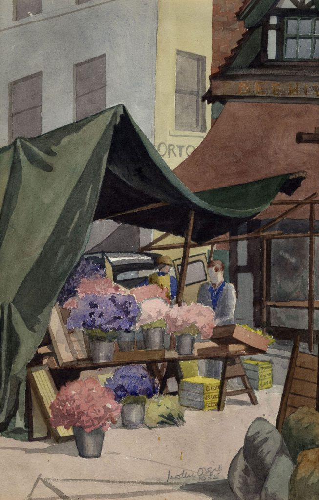 Orgill, Mollie The Flower Stall (1)