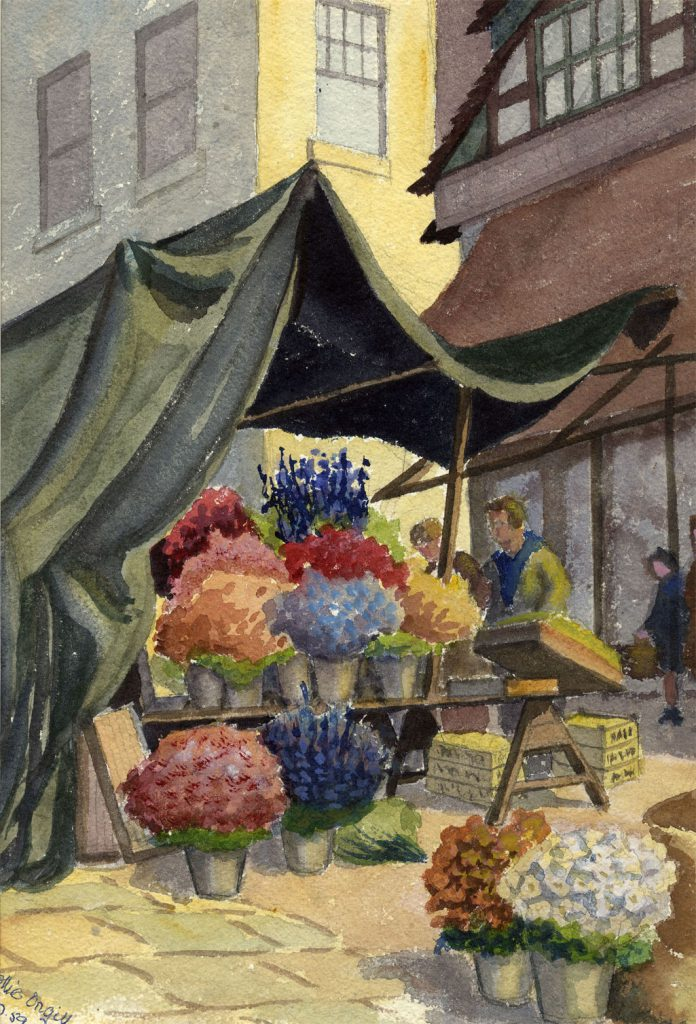 Orgill, Mollie The Flower Stall (2)