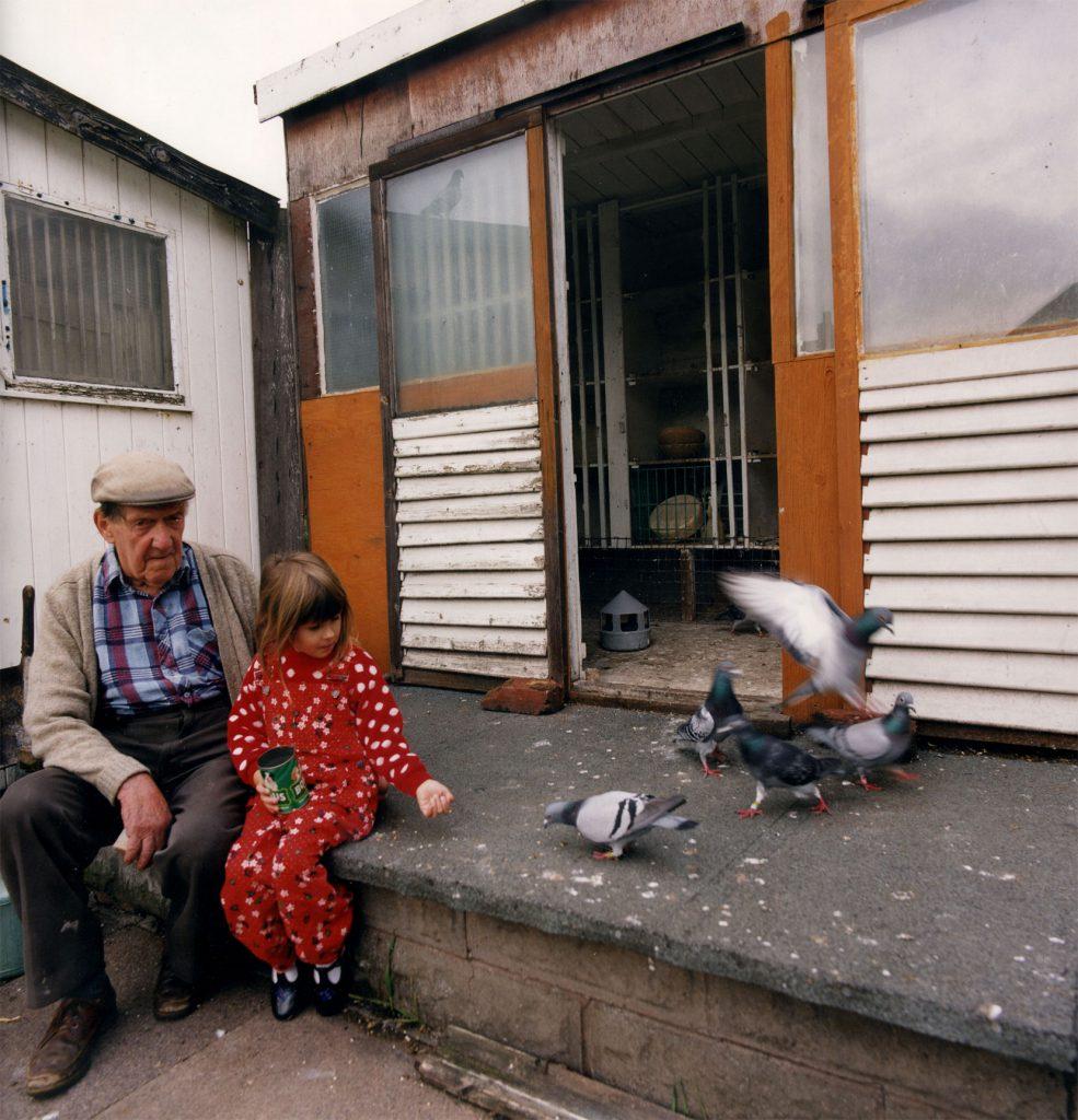 De Nasty, Ming Mr Les Allman and Great Granddaughter, Birchills 1993