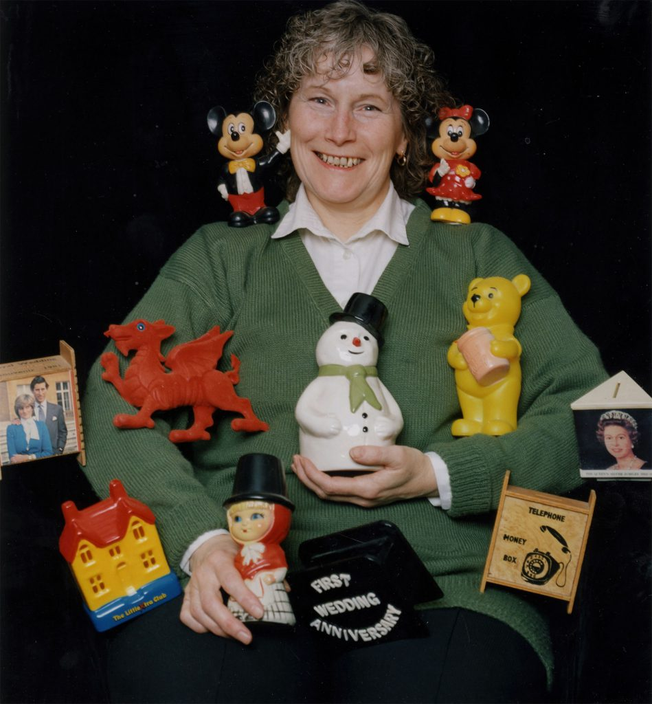 Carroll, Patty Val Francis with her Money Box Collection – The Peoples Show 3