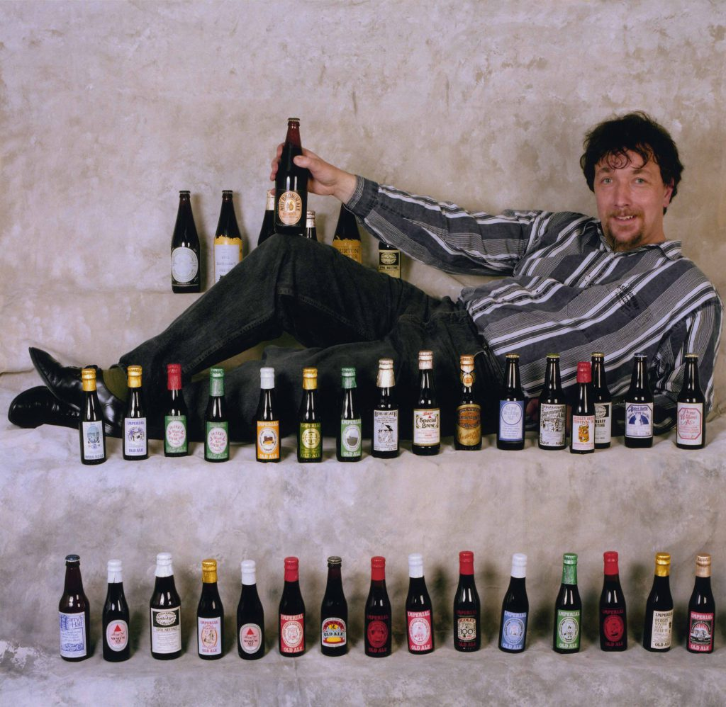 Carroll, Patty Chaz Mason with his Commemorative Bottle Collection – The Peoples Show 3