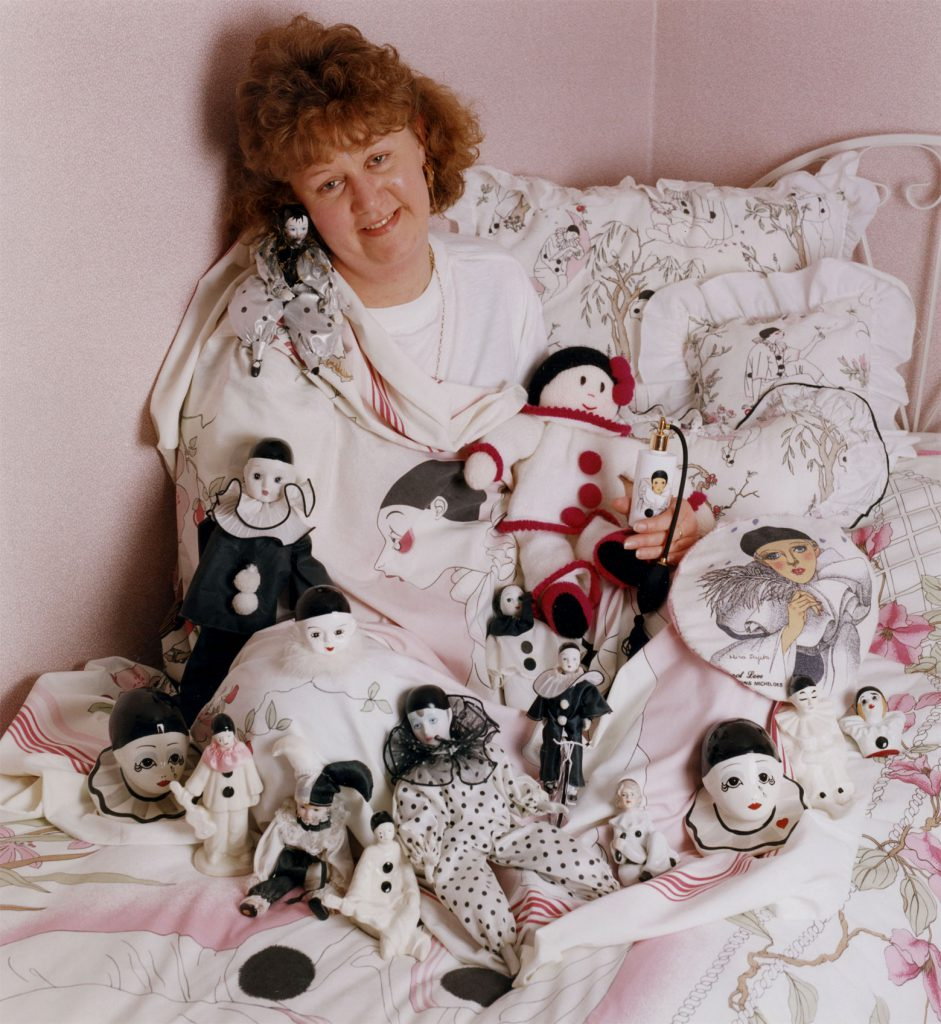 Carroll, Patty Kim Profitt with her Pierrott Doll Collection – The Peoples Show 3