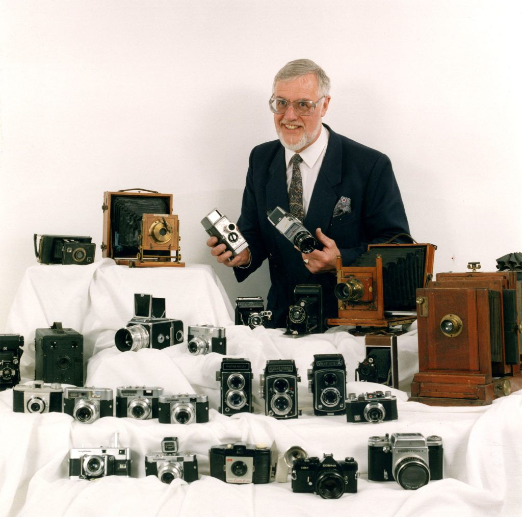 Carroll, Patty William Allwood with his Camera Collection – The Peoples Show 3
