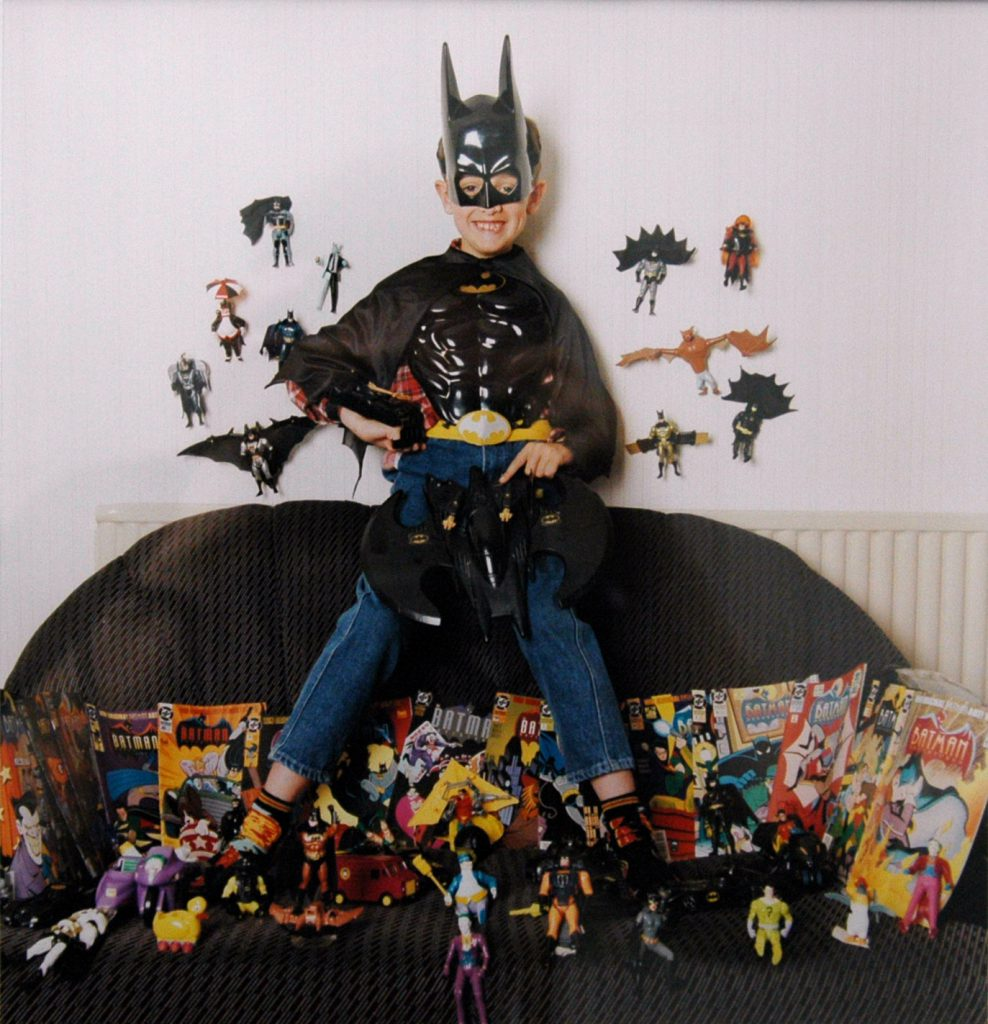 Carroll, Patty Thomas Selby with his Batman Collection – The Peoples Show 3