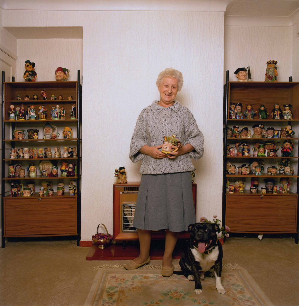 Carroll, Patty Margaret Yates with her Toby Jug Collection – The Peoples Show 3