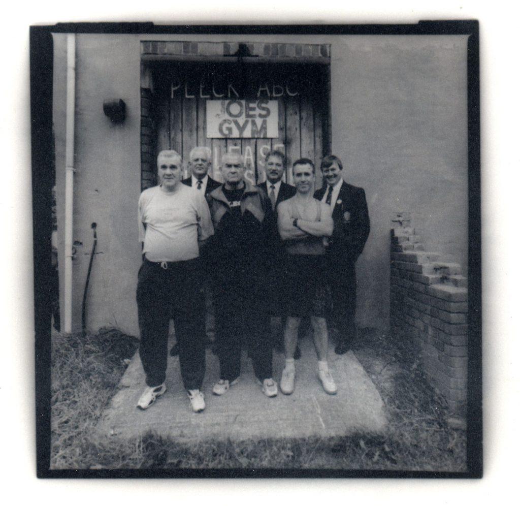 De Nasty, Ming Pleck Boxing Club. Johnny Dixon, Head Coach, Jo Wood, Tony Leonard, Head Coach