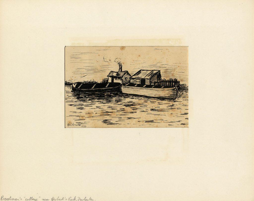 Arnold, Harry Reginald Boatman's 'Cottage' Near Herbert's Park, Darlaston