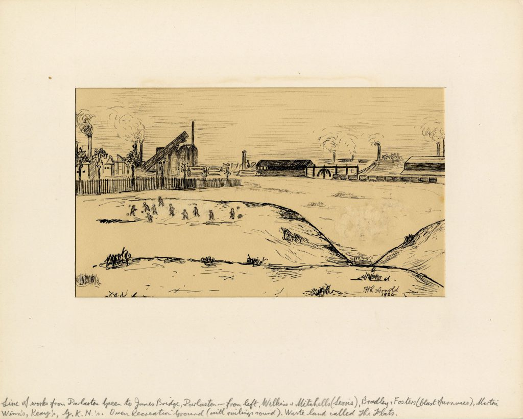 Arnold, Harry Reginald Line of Works from Darlaston Green to James Bridge, Darlaston