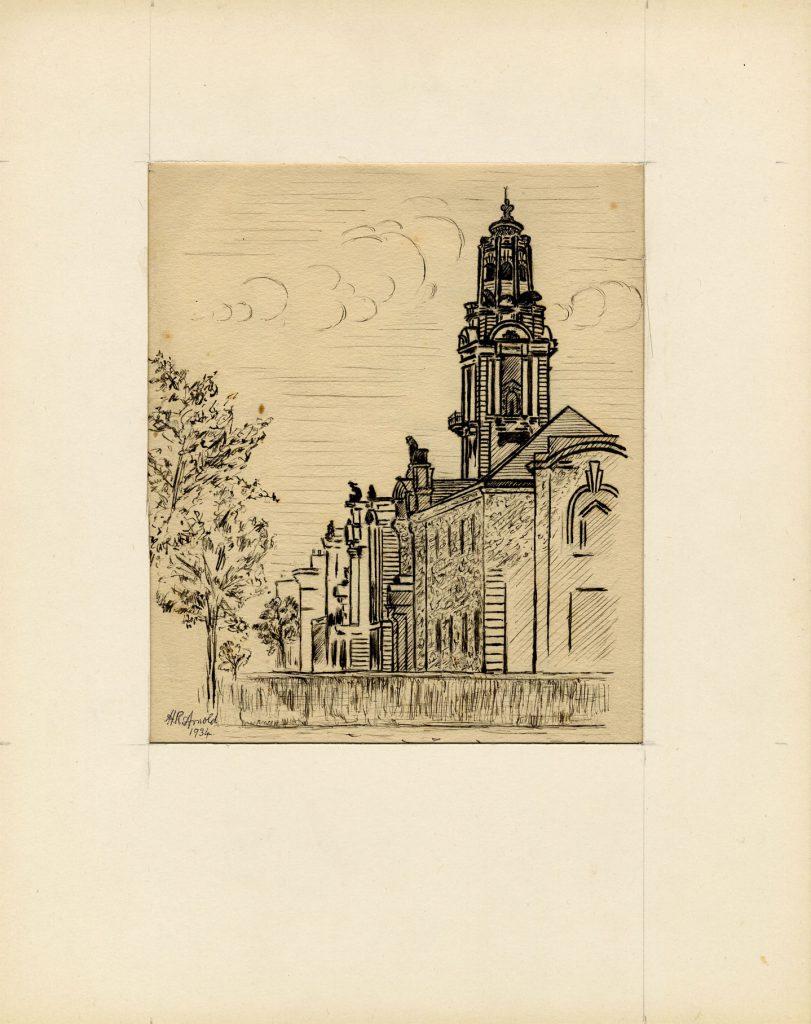 Arnold, Harry Reginald Walsall Town Hall