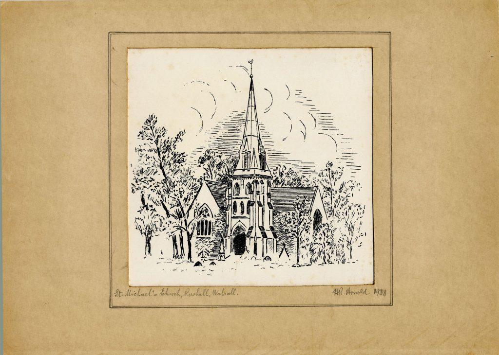 Arnold, Harry Reginald St. Michael's Church, Rushall, Walsall