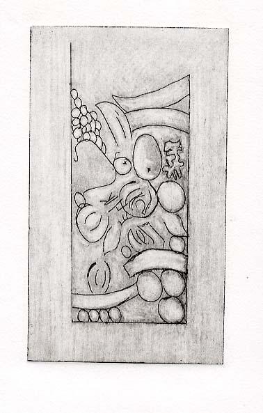 Dehal, Harjinder detail of ceiling design in previous gallery, Lichfield Street