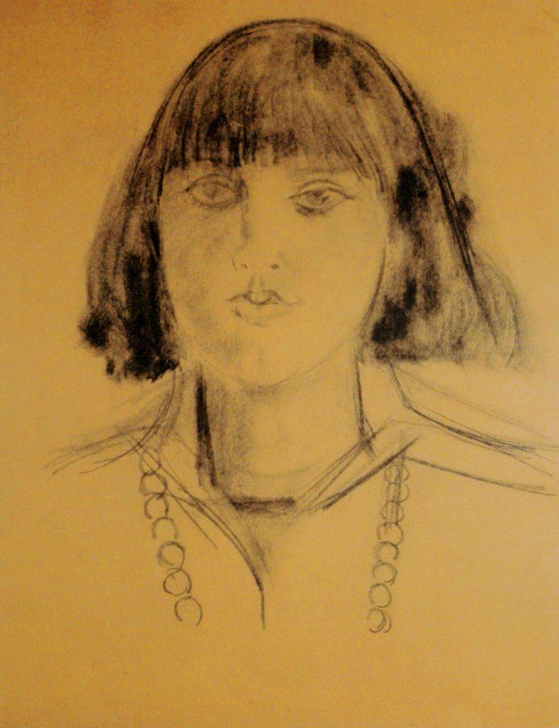 Epstein, Sir Jacob Portrait of a Girl (Eva Dervich)