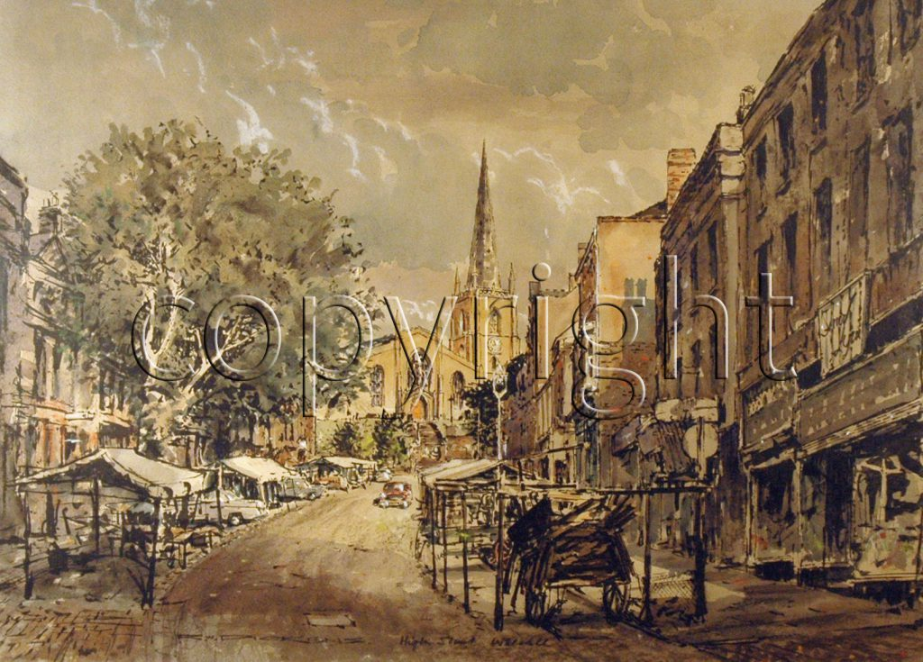 Dickens, Raymond Walter High Street Walsall c. 1960's