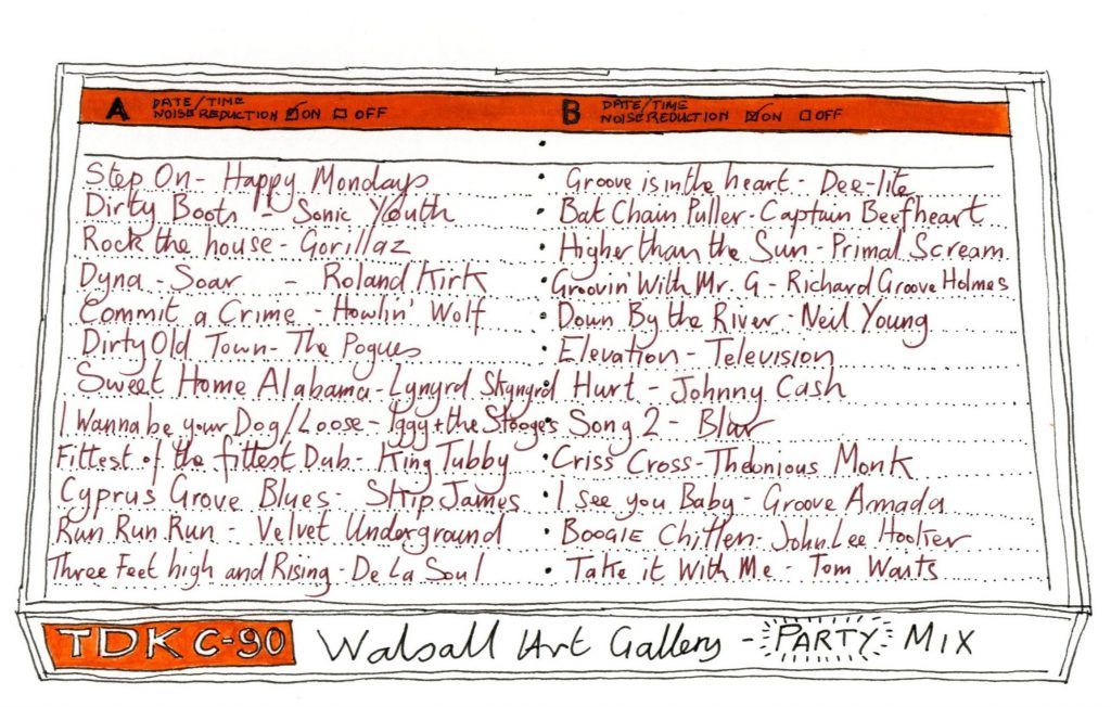 Tift, Andrew The New Art Gallery Walsall Tenth Birthday Card