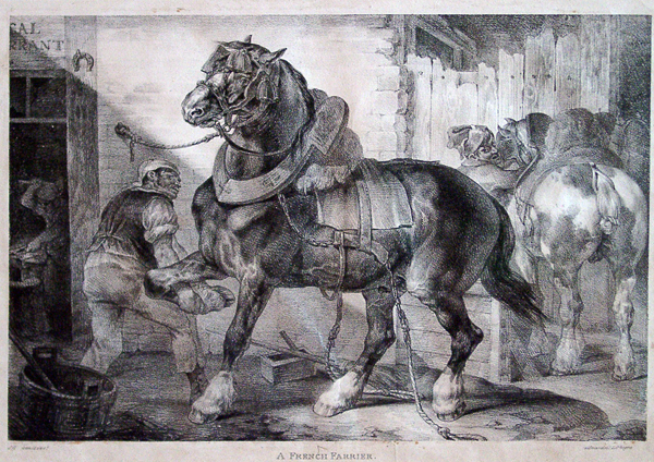 Gericault, Theodore A French Farrier