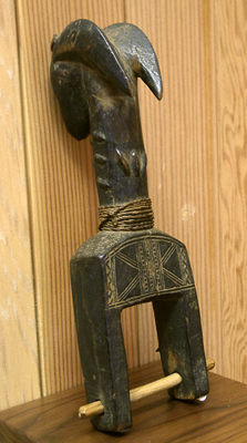 Unknown West African Ivory Coast Heddle Pulley