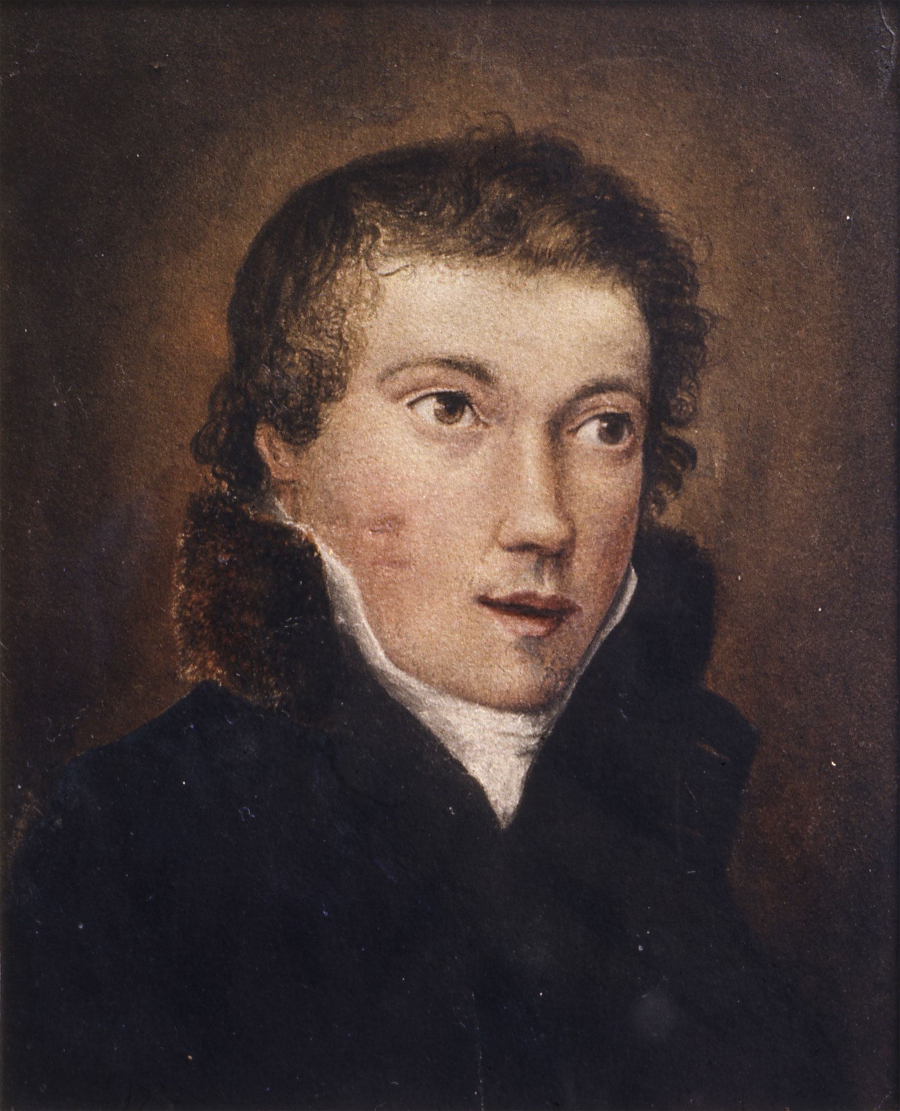 portrait said to be john keats the new art gallery walsall