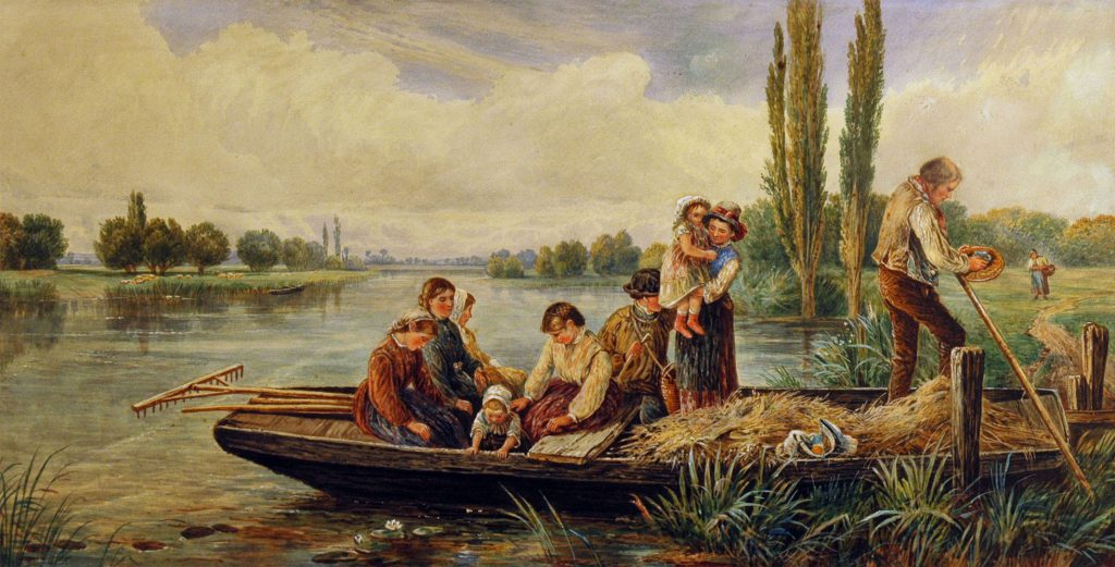 Foster, Myles Birkett (after) Harvesters Returning Home