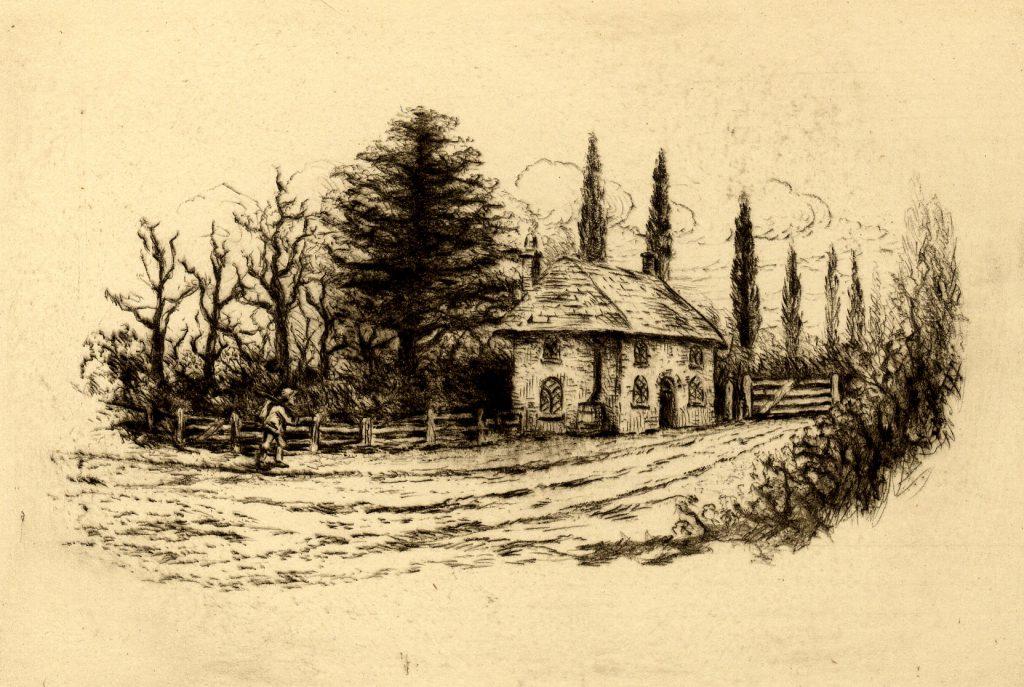 Bog, O. Untitled – Cottage Scene