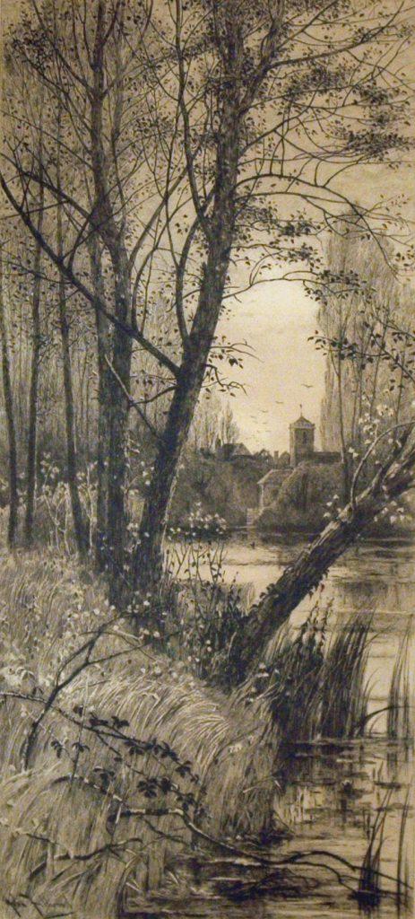 Fullwood, John Lake, Trees and Church