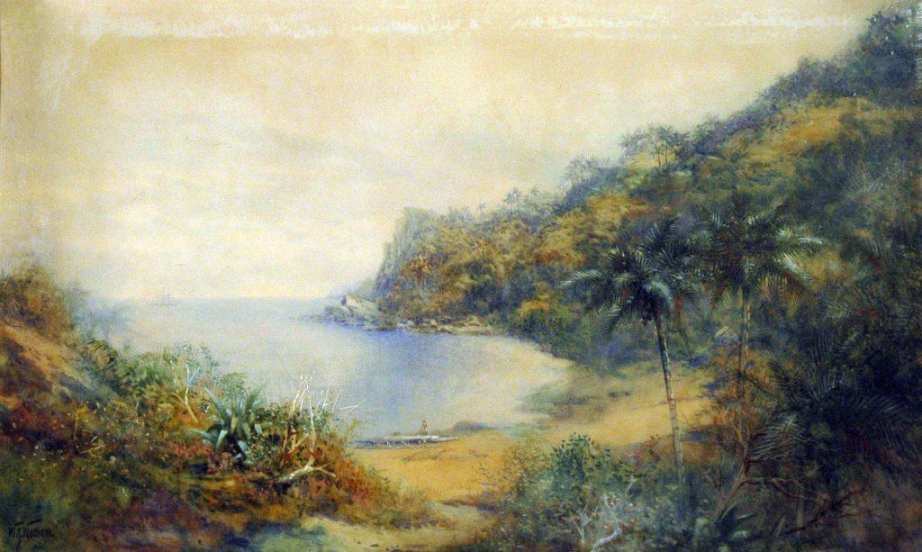Wadham, W.J. View of Harbour Levuka, Fiji, South Seas