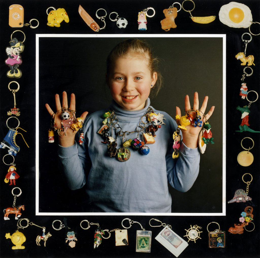 Carroll, Patty Jody Beale with her Keyrings Collection – The Peoples Show 3