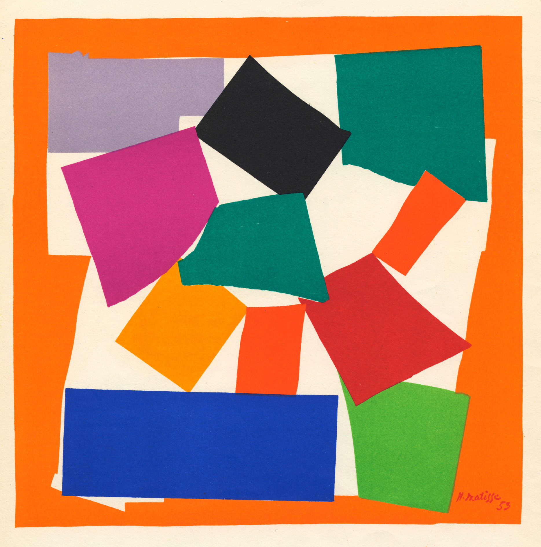 Matisse Drawing With Scissors Late Works 1950 1954 The